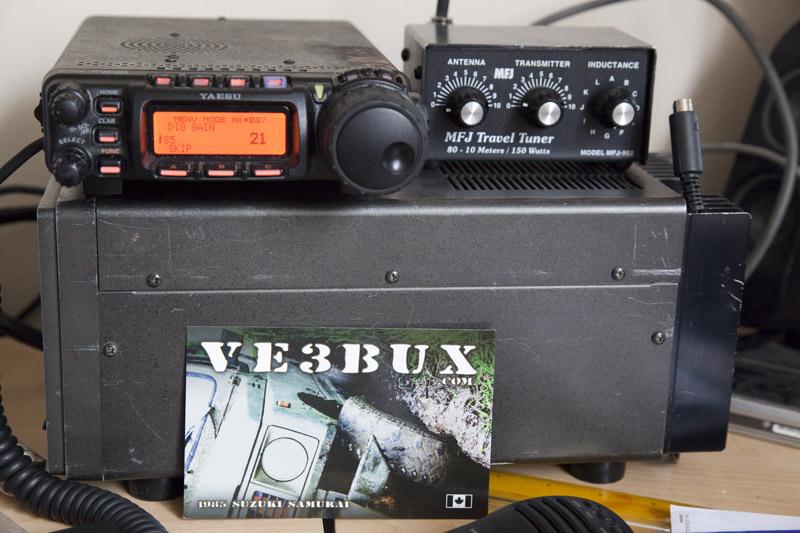 VE3BUX home station