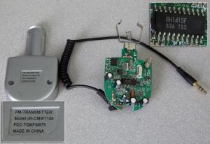 FM Transmitter Model: JH-CMWT104