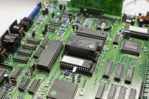 Chip stack installed in U5 socket of theDSP-232